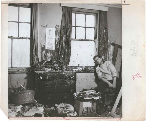 9b_baconbeaton59_Francis Bacon, Cecil Beaton, 1959